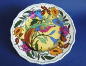 Royal Doulton 'Bird of Paradise C' Series Rack Plate c1938 D4602